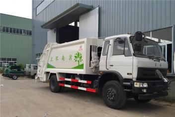 东风153G压缩垃圾车(10-14方)