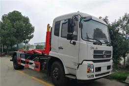 东风天锦(12方)车厢可卸式垃圾车
