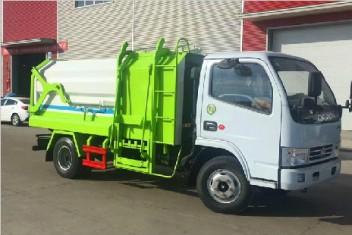 东风多利卡侧装压缩垃圾车(5方)