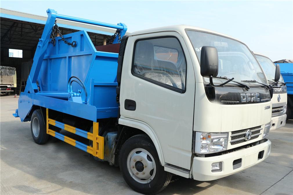 东风小多利卡摆臂式垃圾车(3-4方)